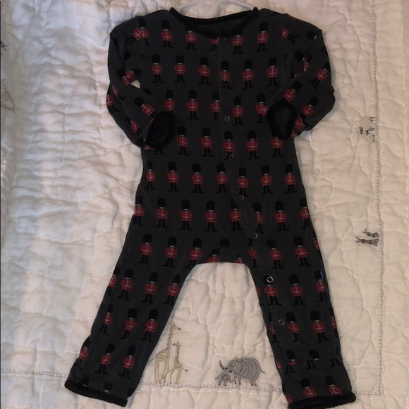 Kickee Pants Other - Kickee Pants Queens Guard Coverall 6-9M